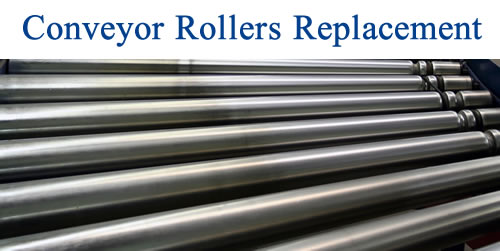 Conveyor Rollers Replacement