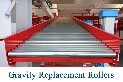 Gravity Replacement Rollers