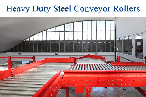 Heavy Duty Steel Conveyor Rollers
